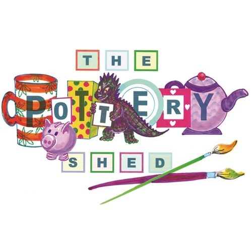 The Pottery Shed company logo