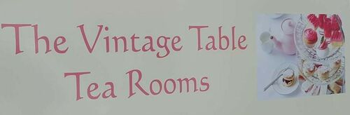 The Vintage Table Tea Rooms company logo