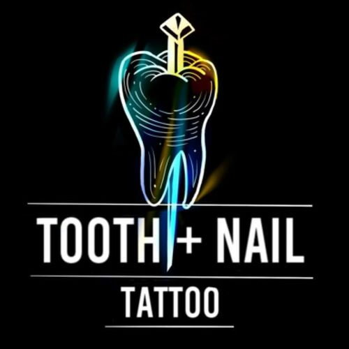 Tooth and Nail Tattoo company logo