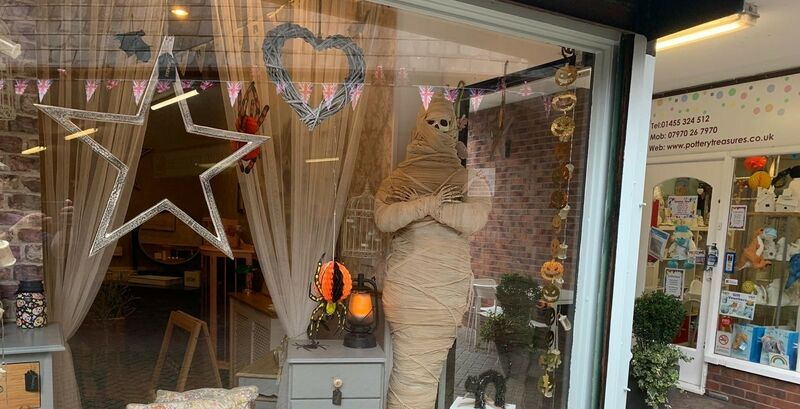 Banner photo for the news story 'Best Dressed Halloween Shop Window Competition!'