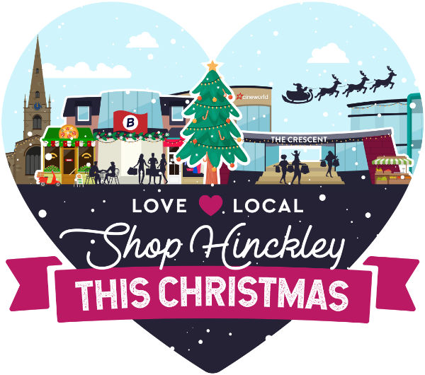 Love Local Shop Hinckley this Christmas (graphic)